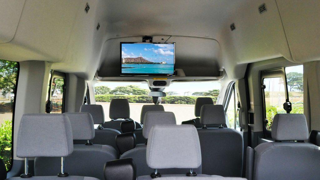 02 Silver Van Interior